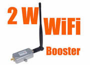 Booster Amplifier, Stronger 2W/333DBm WiFi 802.11b/g Booster Amplifie