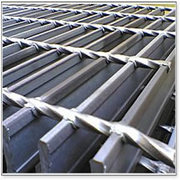 Heavy duty grating,  excellent load and a slip-resistance surface