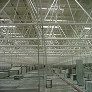 Steel Grating Ceiling Made From Galvanized Steel Bar Grating