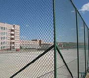 PVC coated chain link fence gives you an attractive sport fence