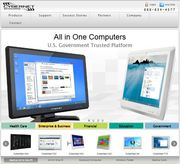 Get competent all in one touch screen computer at Cybernetman.com