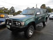 1999 TOYOTA hilux 1999 Toyota Hilux LN167R SR5 (4x4) Green Manual 5s
