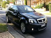 HOLDEN CAPRICE 2008 BLACK HOLDEN CAPRICE WM SPORTS AUTOMATIC