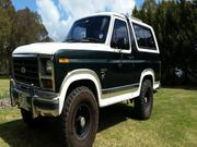 FORD BRONCO 1985 Ford Bronco Manual 4x4