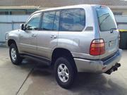 2001 Toyota 2001 Toyota Landcruiser GXV Auto 4x4